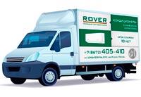 Реклама на транспорте, газель (288х179 см). ROVER - Кондиционеры с мужским характером