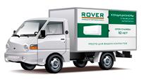 Реклама на транспорте, газель (300х160 см). ROVER - Кондиционеры с мужским характером